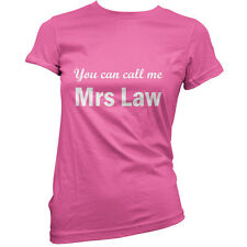 You Can Call Me Mrs Montieth - Womens T-Shirt-11 Colours-TV - Gift - T Shirt
