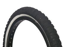 2 of COLOURED BMX TYRE TIRE BLACK WHITE WALL FOLDABLE  20 X 2.125 S101 ON SALE!