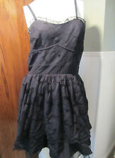 SWEET LOVE BLACK LACE ROSES AND LEAVES PATTERN DRESS FROM HOT TOPIC