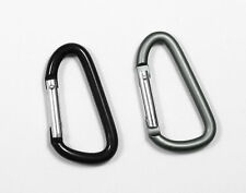 Jumbo 80MM Accessory Carabiner - Black / Foliage Green - Not For Use In Climbing
