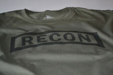 Recon US Ranger T-shirt Army Recce Military Scout Sniper New Mens Marine Corps