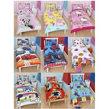 CHARACTER SINGLE DUVET COVERS 100% OFFICIAL REVERSIBLE DESIGNS AVAILABLE