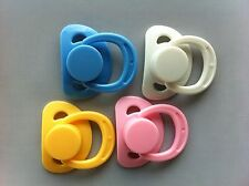 DUMMY/PACIFIER FOR REBORN WITH INTERNAL MAGNETIC SELECT COLOUR NEW COLOURS!!!