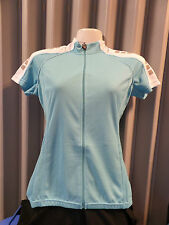Netti cycling top jersey Famous ladies short sleeve turquoise womens