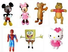 Inflatable Disney Characters Mix Designs Minnie, Mickey, Hello Kitty Kids Play