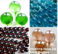 Glass Marbles 16mm Various Colours Weights Home Garden Weddings Aquariums Crafts