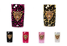 Bling Tiger Head Case Cover for Sony Ericsson Xperia ARC S LT15i LT18i X12
