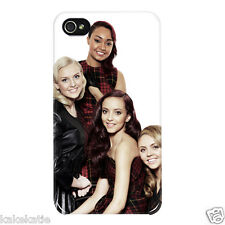 Little Mix IP4 i phone 4 4s white hard back skin case cover for i phone 4 4s