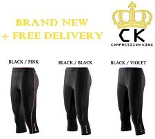 Skins Compression A200 Womens 3/4 Capri Tights - BRAND NEW IN BOX + FREE POSTAGE