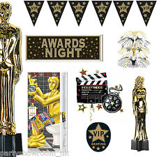 Hollywood Awards Night Star Party Balloons Decorations Tableware 1 Listing PS