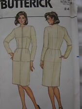 Vintage Butterick SEWING Pattern 3415 Misses FITTING SHELL FF UNCUT OOP