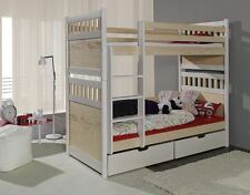 BUNK BED WITH PULL OUT GUEST BED/3in1/WITH MATTRESS/CHILDRENS FURNITURE/JS23a