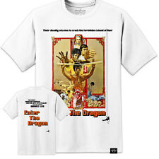 BRUCE LEE ENTER THE DRAGON T SHIRT MOVIE POSTER - HUGE PRINT (S -3XL)