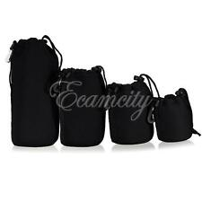 S/M/L/XL Waterproof Camera Lens Case Pouch Bag Neoprene for DSLR Nikon Canon