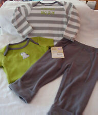 "INFANT/BABY BOYS 3 PIECE CARTER'S ""MOMMY'S BIG GUY"" SET  SIZE 9 MONTHS  NWT"