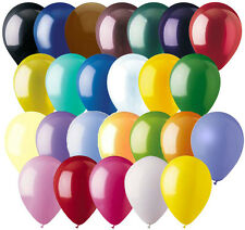 "24- 12"" Solid Latex Balloon Wedding Birthday Party Baby Shower Graduation Mother"