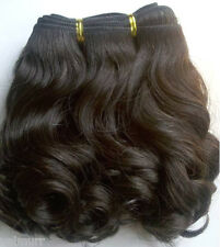 Stock Grade 7A Indian Remy  Big Loose Curl Human Hair Wefts