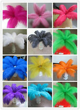 10/20pcs high quality ostrich feathers 10-12inch/25-30cm a variety of colors