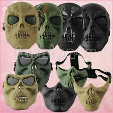airsoft paintball game tactical military full face skeleton skull protect mask