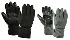 Micro Fleece All Purpose / Weather Gloves - Black, Foliage Green - S,M,L,XL,2XL
