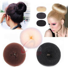 Fashion Hairdressing Bun Hair Former Doughnut Shaper Ring Styler S M L XL 3COLOR
