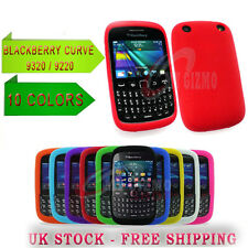 Soft Case Cover Gel Silicone Rubber For Blackberry Curve 9320 9220 New10 color