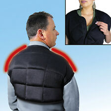 Hot Cold Therapeutic Vest Relieve Arthritis Backaches Shoulder Pain Sooth Stress