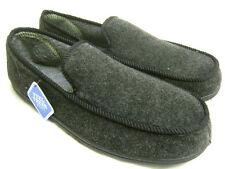 Mens Clarks Slippers King Norton - Charcoal