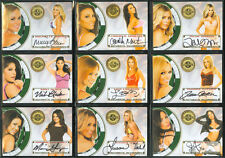 Benchwarmer 2013 Vegas Baby Autographs Your Choice Group 2
