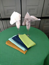 "54"" Square Dupioni Satin Wedding & Home Topper Tablecloth in 39 colors Gorgeous"