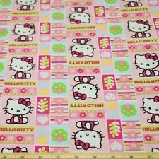 Hello Kitty Patchwork 100% Cotton Fabric