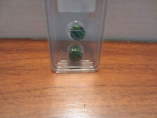 MORBID METALS GREEN ZEBRA EAR PLUGS DIFFERENT SIZES TO CHOOSE FROM HOT TOPIC