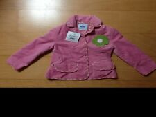Pink velvet moschino bambino jacket new with tag size 3a