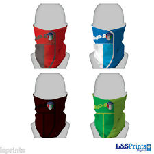 VESPA SILVER SHIELD DESIGN SNOOD NECKTUBE FACEMASK NECKWARMER VARIOUS COLOURS