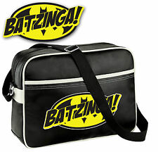 Big Bang Theory Bazinga Bag Batman Shoulder Messenger School College Bag