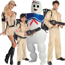 Adult Halloween Ghostbuster Costume Kids Proton Pack Fancy Dress Outfit Female