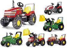 Rolly Toys X TRAC Full Range Of Ride On Pedal Tractors - xtrac xtrack track trak