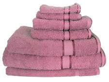 Rose 100%  Cotton Bath Towel Range 7 Pieces Set or Single Pieces Choice