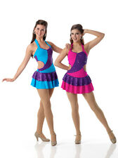 PART OF ME Ice Skating Baton Tap Dress Dance Costume Color & Size Child & Adult