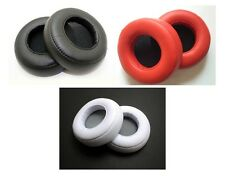 Black White Red Replacement Ear Pads Cushions For Beats By Dr.Dre PRO / DETOX