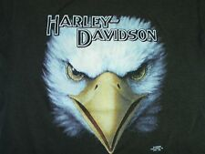 VTG 90s 3D Harley Davidson Eagle Kids T-shirt Motorcycle Biker HD not 70s 80s