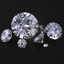 High End Lab Created Internally Flawless Loose Round Cubic Zirconia Stones