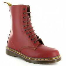 Dr Martens Vintage 1490 Mens Leather Boots Oxblood