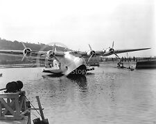 1945 CHINA CLIPPER BOEING 314 LAKE WASHINGTON PHOTO Historical