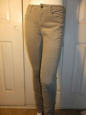 TRIPP GREY SKINNY CORDUROY JEANS DISTRESSED ACCENTS DIFFERENT SIZES TO CHOOSE
