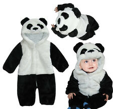 Baby Kid Toddler Panda Animal Onesie Bodysuit Romper One-Piece Halloween Costume