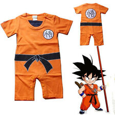 Baby Kid Toddler Boy Dragon Ball Goku Onesie Jumpsuit Romper Fancy Dress Costume