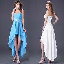 Free Ship Sexy 1pcs Front Short Long Back Cocktail Prom Ball Evening Dress 8size
