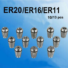 10/13PCS Spring Collet Set For CNC milling Engraving machine ER20  ER11 ER16 dls