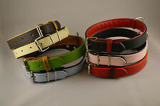 Leather Dog Collar Leather High Quality Hand Crafted